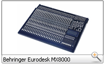 BEHRINGER MX8000 Eurodesk Studio Mixing Console