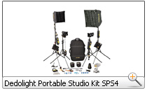 Dedolight Portable Studio Kit SPS4